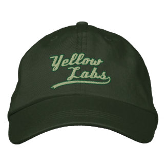 Team Yellow Lab Embroidered Hat