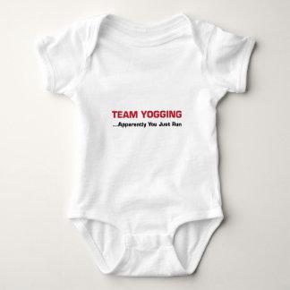 Team Yogging Baby Bodysuit