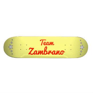 Team Zambrano Custom Skateboard