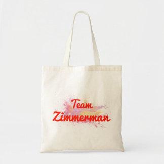 Team Zimmerman Budget Tote Bag