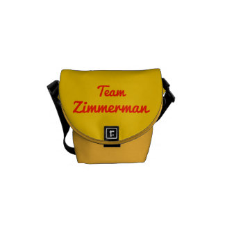 Team Zimmerman Courier Bags