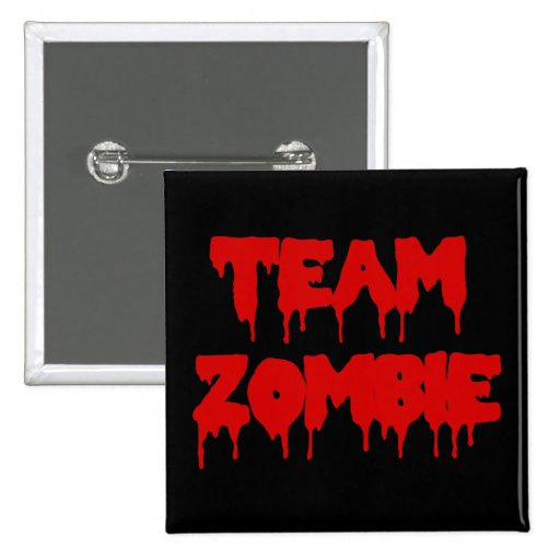 Team Zombie Buttons