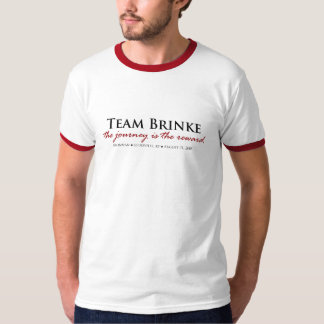 TEAMBRINKE Ringer Mens T-Shirt