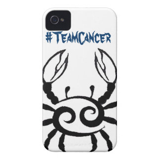 #TeamCancer iPhone Case iPhone 4 Cover