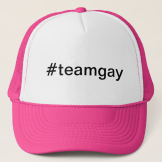 #teamgay hashtag trucker hat