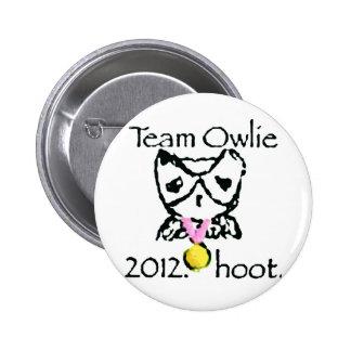 teamowlie2012 ravvie stuff 6 cm round badge