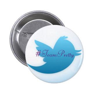 #TeamPretty Twitter Buttons