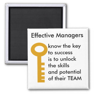 TEAMS manager - key to success Magnet