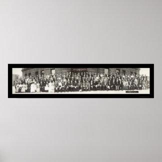 Teamsters Brotherhood Photo 1910 Poster