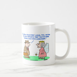 teamsters mice coachmen cinderella mug