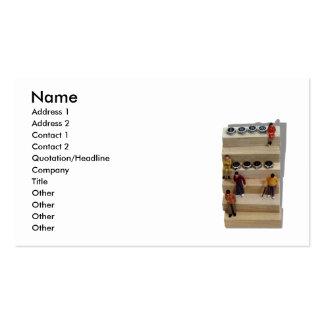 Teamwork041209shadows, Name, Address 1, Address... Business Card Template