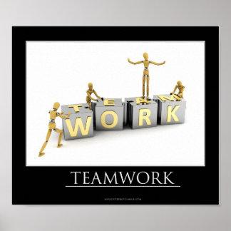 Teamwork Concept - Poster