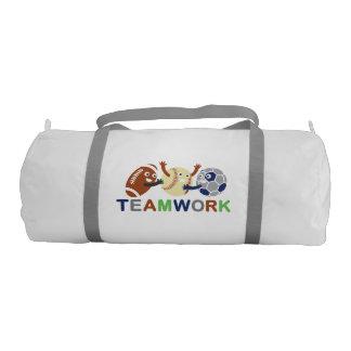 Teamwork Gym Bag Gym Duffel Bag