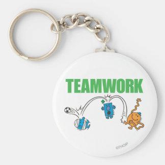Teamwork Key Ring