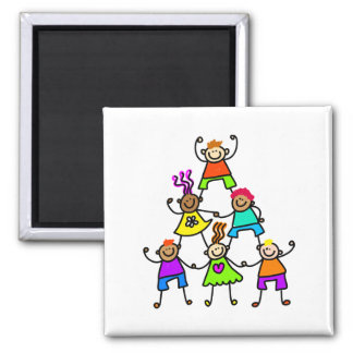 Teamwork Kids Magnet
