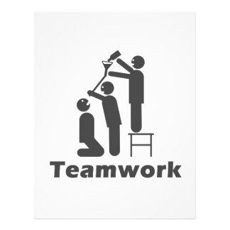 Teamwork - Motivational Merchandise 21.5 Cm X 28 Cm Flyer