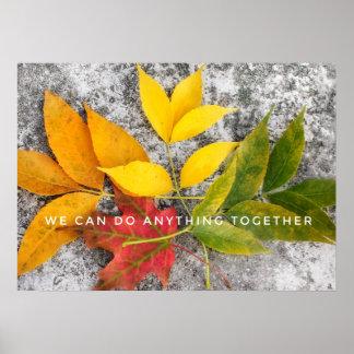 Teamwork Poster Print