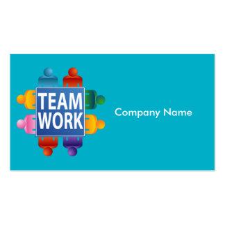 Teamwork Table Business Card Pack Of Standard Business Cards