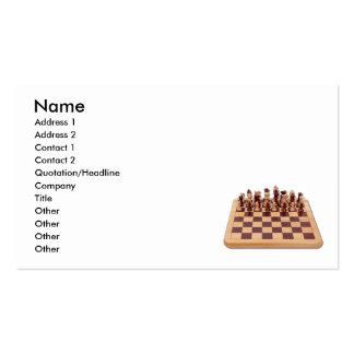 TeamworkChess073110, Name, Address 1, Address 2... Business Card Template