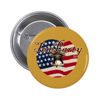 Teaparty Flag and Liberty Bell Pins