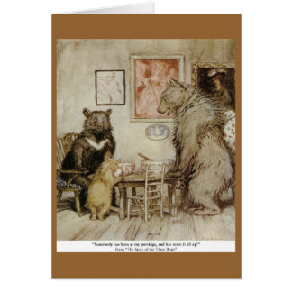 Teaparty Greeting Card