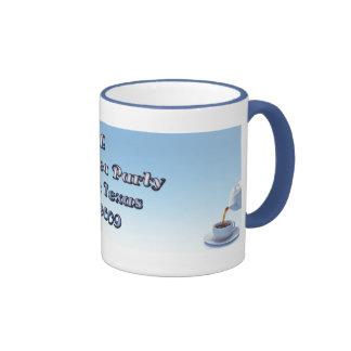 Teaparty Mug Blue and white