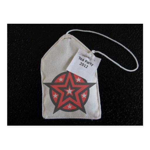 teaparty post card