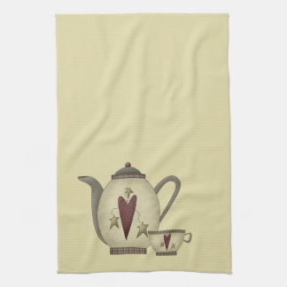 Teapot and Teacup Tea Towel