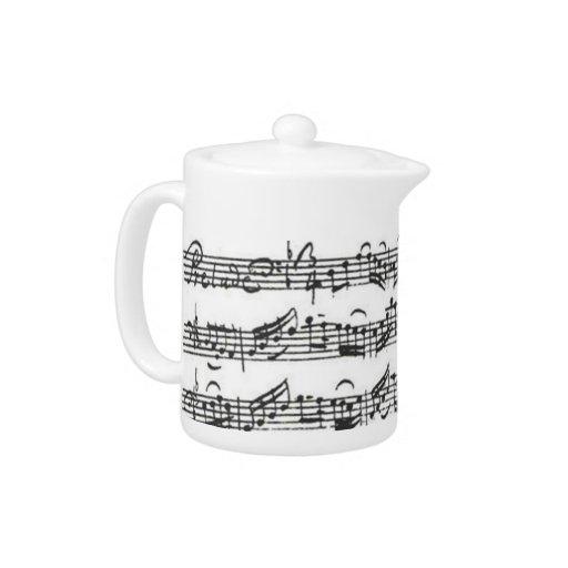 Teapot Bach Cello Suite