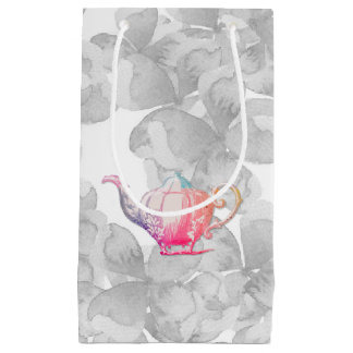 Teapot colorines small gift bag