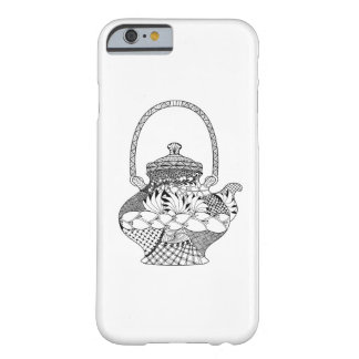 Teapot Doodle Barely There iPhone 6 Case