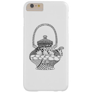 Teapot Doodle Barely There iPhone 6 Plus Case