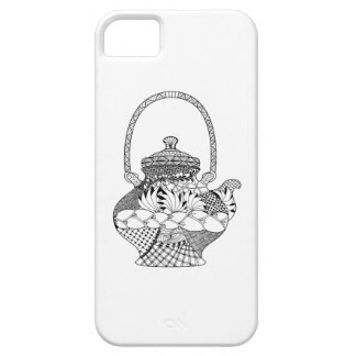 Teapot Doodle iPhone 5 Covers