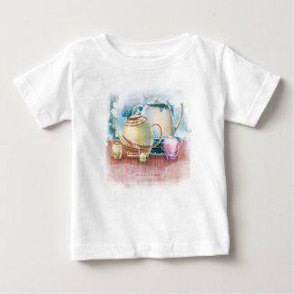 Teapot Family for child 1 Baby T-Shirt