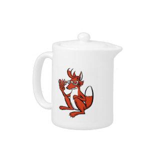 Teapot fox
