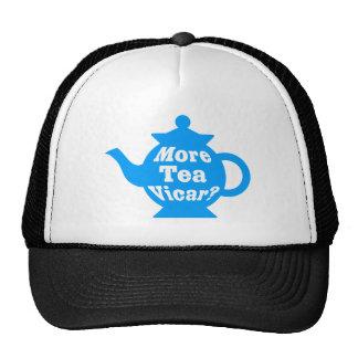 Teapot - More tea Vicar - Mid Blue and White Mesh Hat