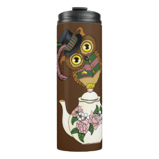 Teapot Owl Thermal Tumbler