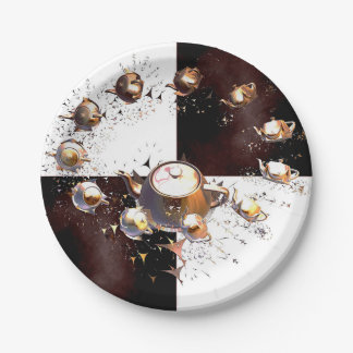 Teapot Party Paper Plate