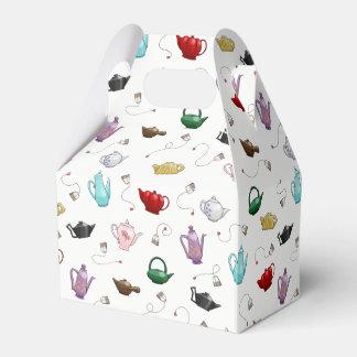 Teapot Pattern Gift Box