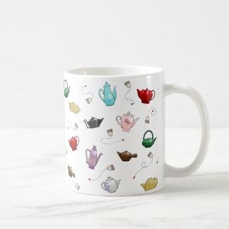 Teapot Pattern Mug