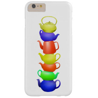 Teapot Pattern Retro Barely There iPhone 6 Plus Case