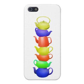 Teapot Pattern Retro iPhone 5/5S Cases