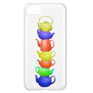 Teapot Pattern Retro iPhone 5C Case