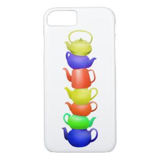 Teapot Pattern Retro iPhone 7 Case