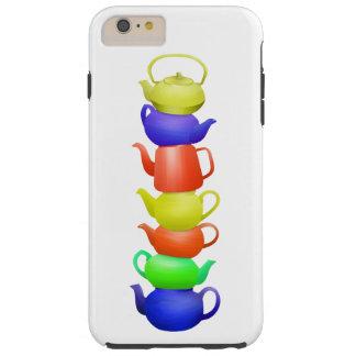 Teapot Pattern Retro Tough iPhone 6 Plus Case