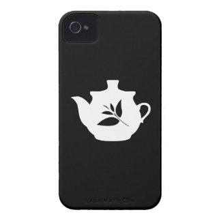 Teapot Pictogram iPhone 4 Case