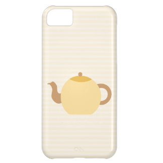 Teapot Picture in Neutral Colors. iPhone 5C Cover