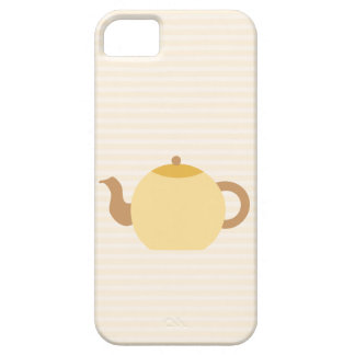 Teapot Picture in Neutral Colors. iPhone 5 Cover