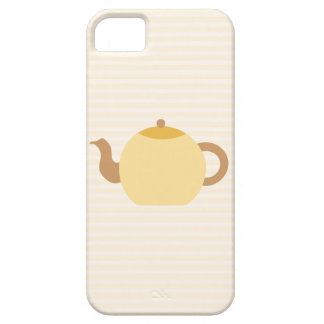 Teapot Picture in Neutral Colors. Case For The iPhone 5