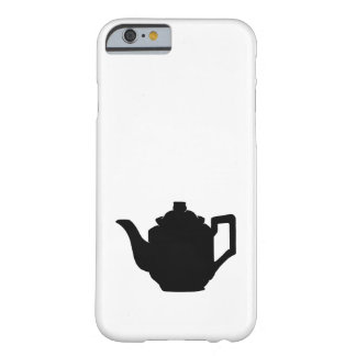 Teapot Silhouette Barely There iPhone 6 Case